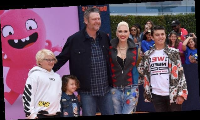 Gwen Stefani & Blake Shelton Celebrating Kingston's 14th Birthday In Oklahoma With 'One Big Family Party'