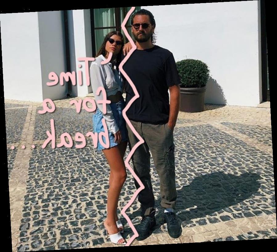 Scott Disick & Sofia Richie Are 'On A Break' After Brief Rehab Stay