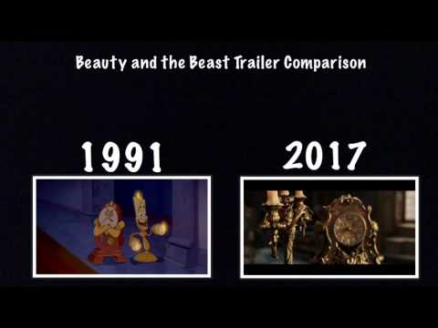Beauty and the beast comparison