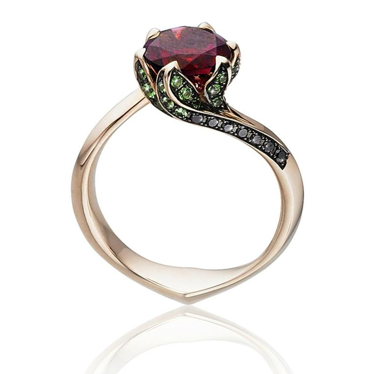 Beauty and the beast ring