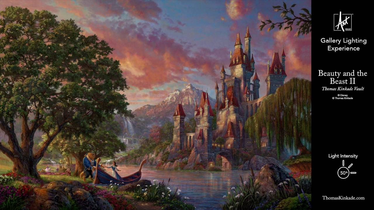 Limited Edition Canvas – Of all the Disney love stories, …