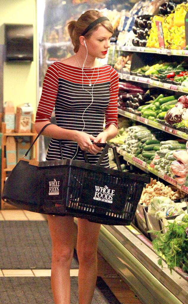 Celebrities grocery shopping