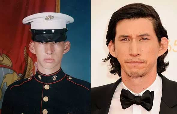 Celebrities in the military