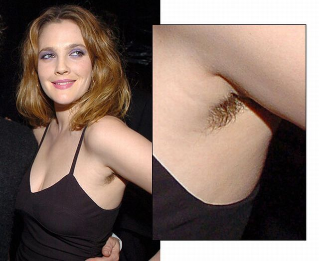These female celebrities rocked body hair on the red …