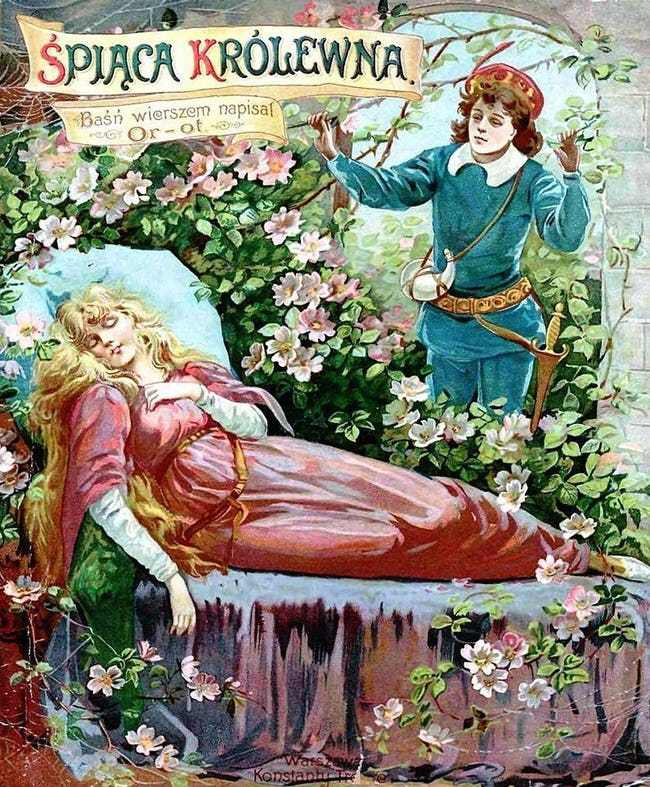 Original sleeping beauty