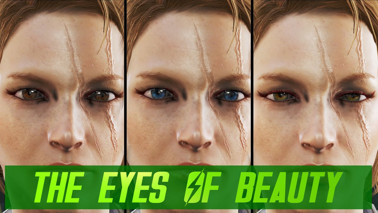The eyes of beauty fallout 4