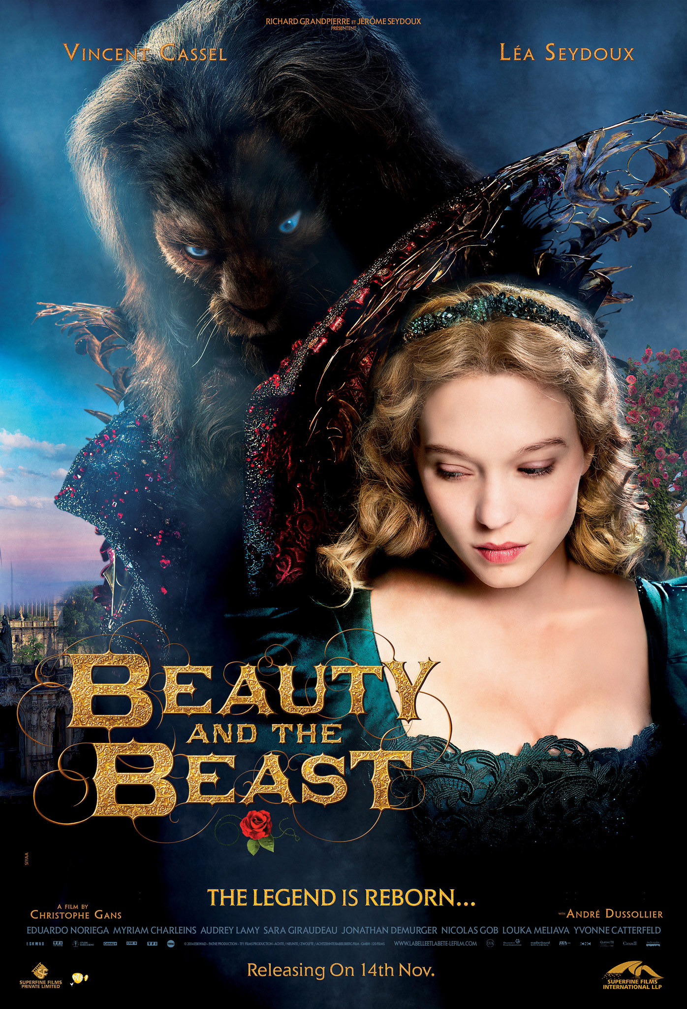 When was beauty and the beast released